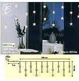Best Season 2006-63 - Guirnalda de luces con forma de estrella (180x40cm, luz blanca cálida)