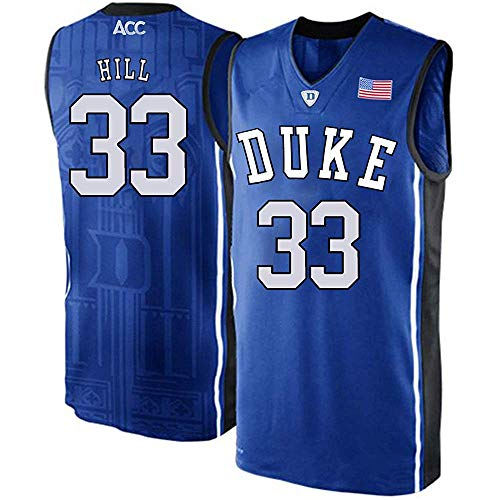 Men's/Women's/Youth_Grant_Hill_Duke_Blue_Devils_College_Blue_Elite_Jersey