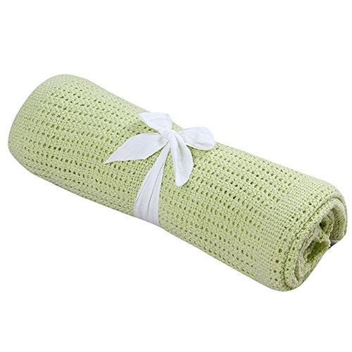 Sleeper Taggies (Birdfly Baby Blanket Swaddle Soft Cotton Personalized for Infant Boy Girls Wrap Sleeper (70100cm, Green))