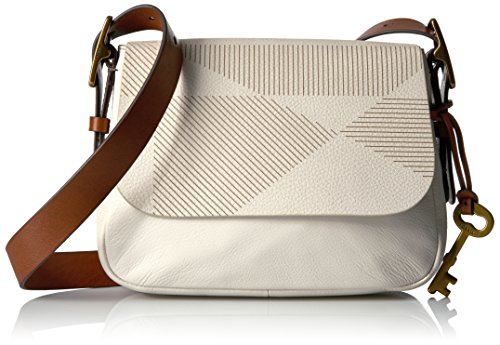 Fossil Harper Small Crossbody, Vanilla by Fossil