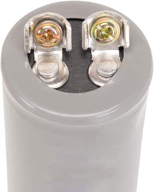 con Cavo 250V CA ICQUANZX 400UF CD60 Avviamento del Motore in Funzione Condensatore del Motore per lavvio di Motori CA con frequenza di 50Hz // 60Hz Come condizionatori dAria compressori e Motori
