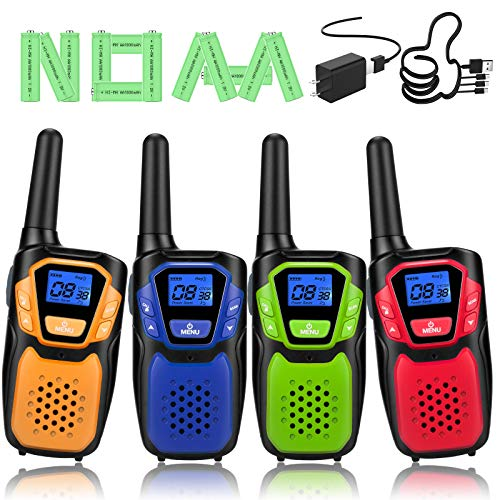 Topsung Walkie Talkies for Adult, Easy to Use Rechargeable Long Range Walky Talky Handheld Two Way Radio with NOAA for Hiking Camping 920