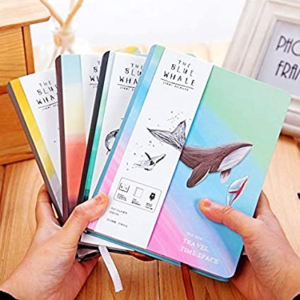 Amazon.com : | Notebooks | Travel time space Notebook Cute ...
