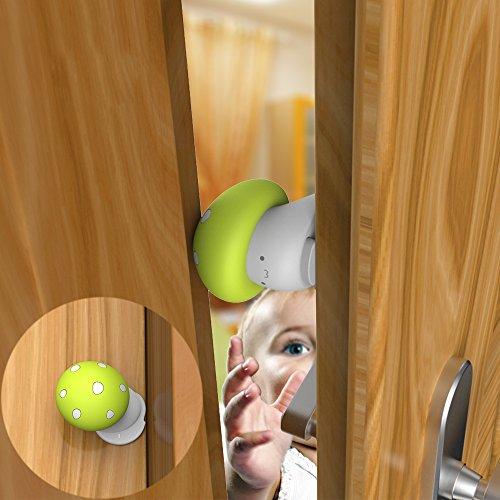 SIM&NAT Door Finger Pinch Guard Child Safety Door Stop Thumb Protector … (Door Finger Pinch Guard)