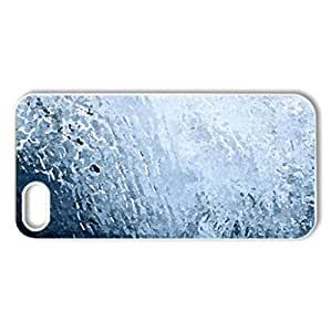 Wave - Case Cover for iPhone 5 and 5S (Oceans Series, Watercolor style, White)