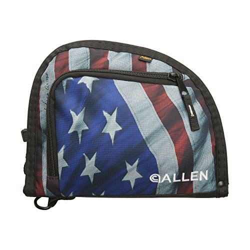 Allen One Pocket 9 Auto-Fit Handgun Case, Stars & Stripes