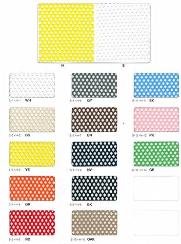 色付きメッシュ カラーメッシュ 目合(mm):3|カラー:WH(ハード)|大きさ:920mm×50m B075CK6KDP カラー:WH(ハード)|大きさ:920mm×50m