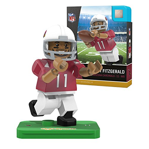 - OYO NFL Arizona Cardinals Gen4 Limited Edition Larry Fitzgerald Mini Figure, Small, White