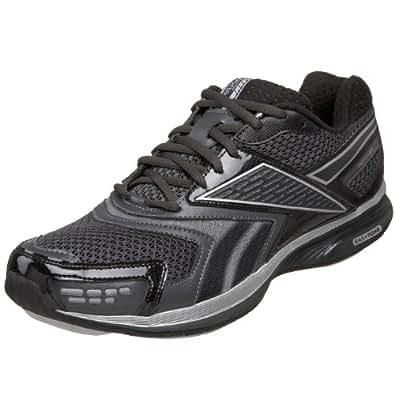 Reebok Men's Easytone Stride Walking Shoe,Black/Gravel/Pure Silver,9 M US