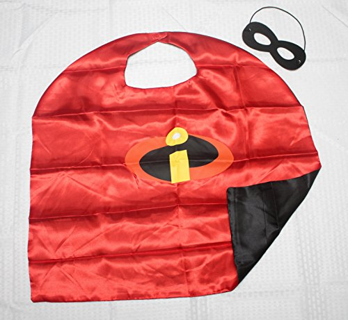 [(Incredibles) ROXX Cape and Mask Costume for Child Superhero Kids Girl Boy] (The Incredibles Costume Girl)