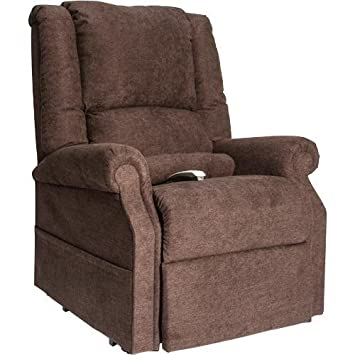 NM-101 Chocolate Windermere Mega Motion Ultimate Power Lift Recliner Infinite Position Lay Flat And Zero Gravity Recliner. Free Curbside Delivery.