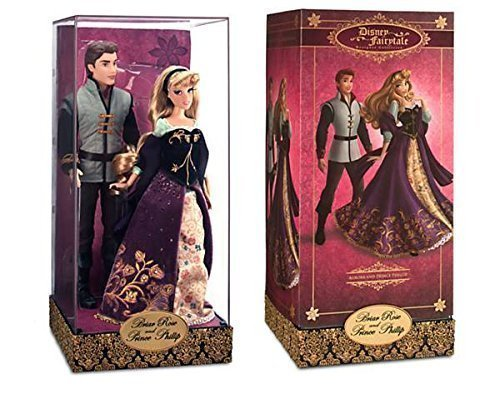 Aurora and Prince Phillip Doll Set Disney Fairytale Designer Collection Sleeping - Disney Dolls Collectible