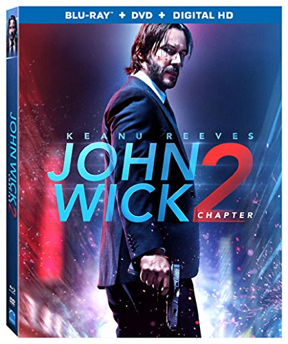 John Wick Chapter 2 Blu ray product image