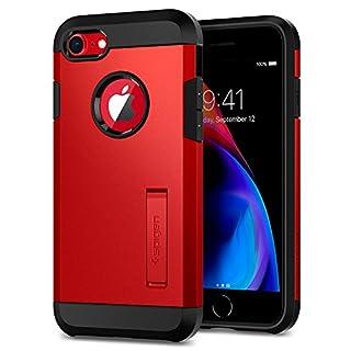 Spigen Tough Armor [2nd Generation] Designed for Apple iPhone 8 Case (2017) / Designed for iPhone 7 Case (2016) - Red