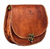 vintage crossbody purse - NICK & NICHE Christmas Deal Bag Handmade crafted Vintage Style Genuine Leather Vacation crossbody bag womens purse shoulder bag 9 inches