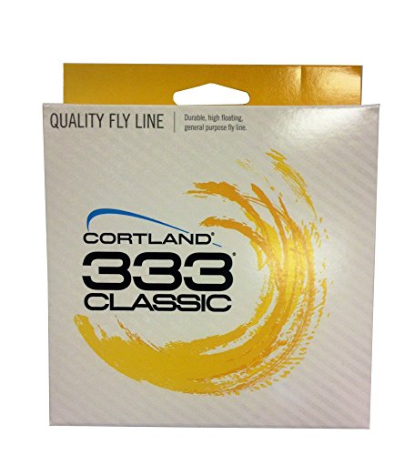 (Cortland 333 Classic Trout/All Purpose Fly Line WF5F)
