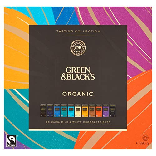 Green & Black's Organic Tasting Collection (395g) (Chocolate Dark And Green Black)