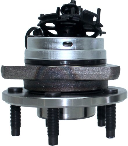 Detroit Axle - Front Driver or Passenger Side Wheel Hub and Bearing Assembly w/ABS w/ABS for - 06-12 Chevy Malibu w/ABS - [05-10 Pontiac G6 w/ABS] - 07-09 Aura - 08-10 Cobalt SS/HHR SS ONLY