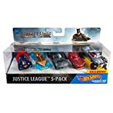 Hot Wheels DC Universe Justice League Vehicle 5 Pack