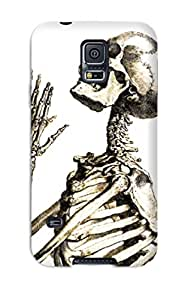 Best For Galaxy S5 Protector Case Skeleton Phone Cover