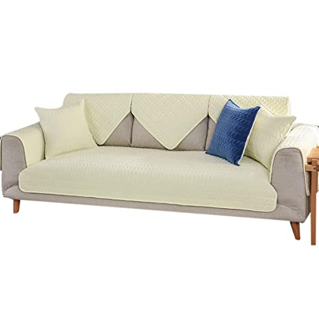 Amazon.com: Bverionant 1pc Velvet Sofa Cover Pad Reversible ...