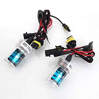 New 2Pcs Car Xenon HID H8/H9/H11 6000K 55W Head Light Bulb Lamp F