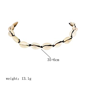 Stylish Beach Bohemian Sea Shell Pendant Chain Choker Necklace Women Jewelry#^