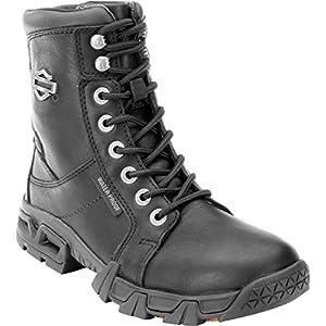 Harley-Davidson Women's Elaine 5-Inch Waterproof BLK Boots. D87054 (Black, 7)