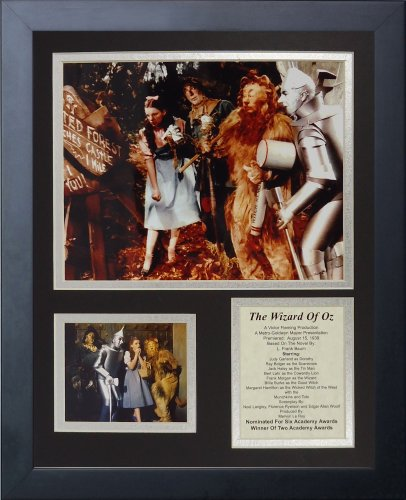 - Legends Never Die Wizard of Oz The Enchanted Forest Framed Photo Collage, 11x14-Inch