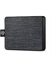 "Seagate STJE1000400 One Touch SSD, 1 TB, Taşınabilir SSD, 2.5"", USB 3.0, PC & Mac, Siyah"