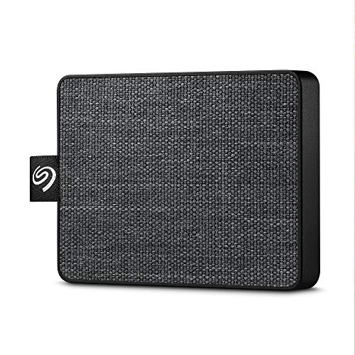 Seagate One Touch SSD 500GB External Solid State Drive Portable - Black, USB 3.0 for PC Laptop and Mac, 1yr Mylio Create, 2 months Adobe CC Photography (STJE500400)