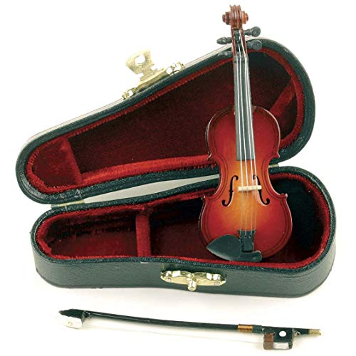 Miniature Violin: Small, 4 inches (Best Sad Poetry Ever)