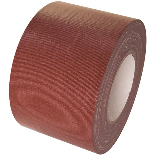 (Duct Tape 4 in x 60 yd rolls, Craft Grade, 18 colors, Brown)