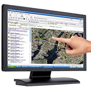 """WinTouch 18.5"""" Touch Screen Kit, Converts your PC Monitor to Touch Screen via USB, No Installation Required - Fits Monitors up to 18.5"""""""