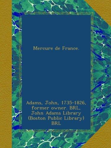 Read Online Mercure de France. ebook