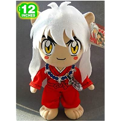Inuyasha 12 Inch Inuyasha Plush Doll Plush Toy by Naruto: Toys & Games
