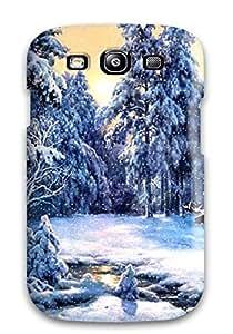 Hot Design Premium RIeQwoJ1557SwlAj Tpu Case Cover Galaxy S3 Protection Case(christmas Holiday Christmas)