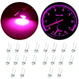 20Pack Purple LED Bulb Gauge Cluster Backlight Speedometer Repair Kit For 2003-2006 Chevy Silverado Backlight