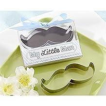 """Kate Aspen 14095NA """"My Little Man"""" Mustache Cookie Cutter"""