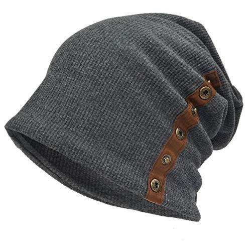 Ruphedy - Gorro de Punto - para Hombre gris