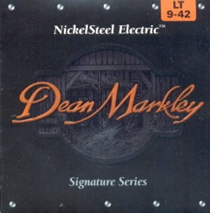 Amazon.com: CUERDAS GUITARRA ELECTRICA - Dean Markley (2502) Lite/Signature (Juego Completo 009/042): Musical Instruments