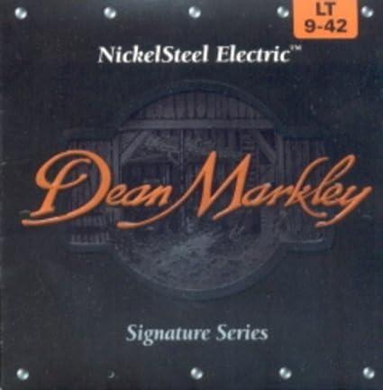 Amazon.com: CUERDAS GUITARRA ELECTRICA - Dean Markley (2502) Lite/Signature (Juego Completo 009/042): Musical Instruments