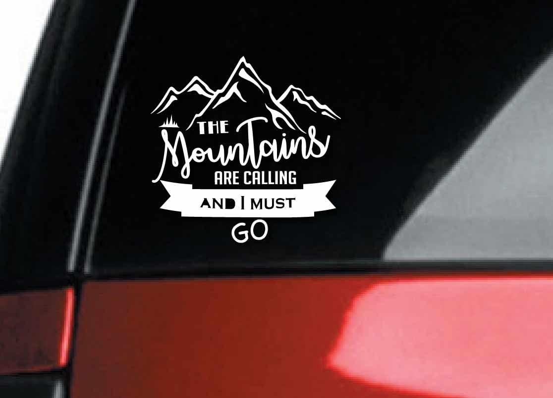6/'/' or 8/'/' San Diego City Slogan Car Bumper Sticker Decal