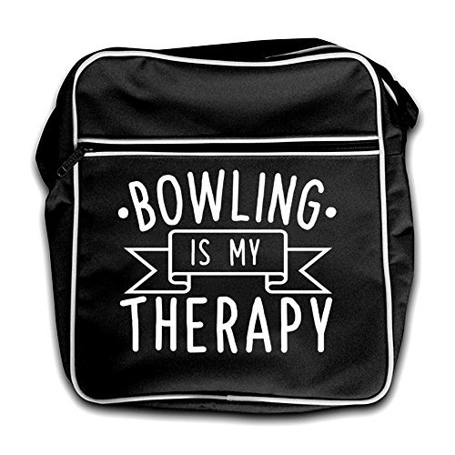 Therapy Flight Bowling Black Red Retro Bag My Is 44EIH
