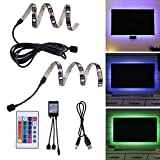 LED TV Backlight Bias Lighting for HDTV, Desktop PC USB Powered Home Theater Accent Lighting RGB Multi Color LED Strip Light With Remote (Reduce Eye Fatigue and Increase Image Clarity) LZ Lighting For Sale