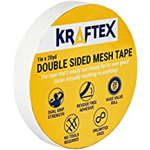 NEW: All Purpose Double Sided Tape, For Mounting, Carpets, Floors, Rugs, Runners, Mats [Extra Strength Adhesive] Indoor Gripper Tape For Wood, Laminate, Tile and More [Glue Sticks To ANY Surface]