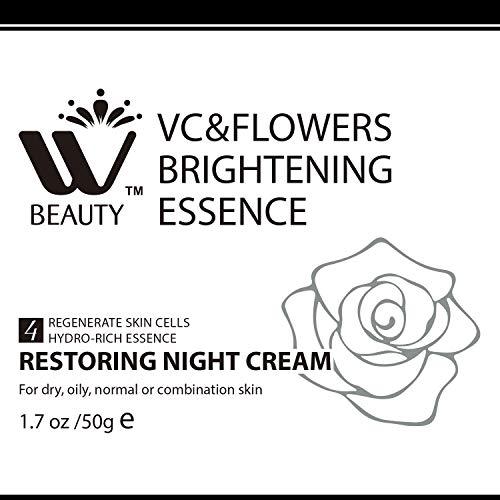 51kbck8eQRL - WBM Restoring Night Cream For Face   Anti-Aging Retinol Cream Moisturizer   Skin Renewing Face Cream With Hydro-Rich Essence   1.7 Oz