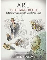 Art Coloring Book: 101 Masterpieces from Da Vinci to Van Gogh