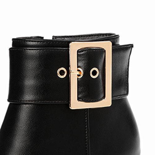 ANKLE ANKLE ANKLE BOOTS DONNA CASUAL MissSaSa MissSaSa MissSaSa SCARPE Nero qwadAAEt