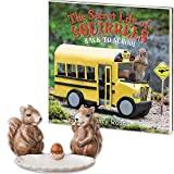(Set) The Secret Life Of Squirrels Back To School And Salt & Pepper Shakers